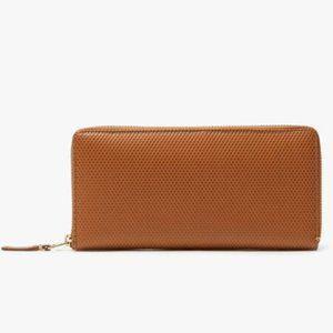 Commes des Garçon brown leather wallet
